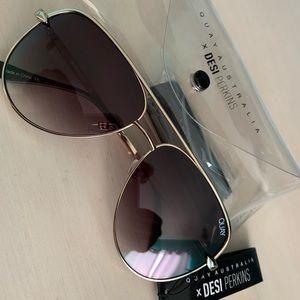 QUAYXDESI Sahara mini sunglasses